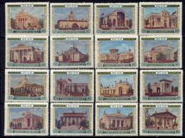 RUSSIE - 1737/1752*/**  - EXPOSITION AGRICOLE DE MOSCOU - 1923-1991 USSR