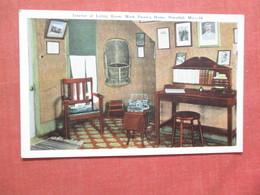 Living Room Mark Twains Home Hannibal Missouri    Ref  3854 - Historical Famous People