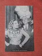Carmen Miranda & Tom Breneman    Ref  3854 - Entertainers