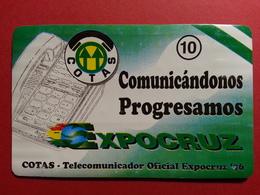 BOLIVIA COTAS EXPOCRUZ COMUNICANDONOS PROGRESAMOS AGO/96 08/96 Daruma URMET FIELD TRIAL TEST BOLIVIE (BA0120.2 - Bolivie