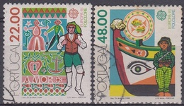 PORTUGAL1981 Nº 1509/10 USADO - Used Stamps
