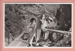 OLD POSTCARD - SWITZERLAND - SCHWEIZ - SUISSE -    TRAIN - MONTE PIOTTINO - TI Ticino