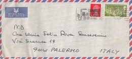 GRAN BRETAGNA  /  ITALIA  - Cover _ Lettera - 1952-.... (Elizabeth II)