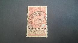 57 Oblitéré Vendu à 15% - 1893-1900 Fine Barbe