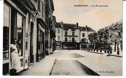 Saône Et Loire MARCIGNY La Promenade - Autres Communes