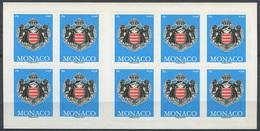 Monaco 2012 - N° 2826 - Carnet - Série Courante - Armoiries - Non Plié - Neuf -** - Carnets