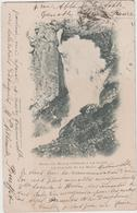 8706.   Route Du Bourg D' Oisans A La Grave - La Cascade De La Meije - 1901 - FP - Torino - Non Classés