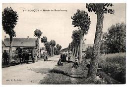 HOLQUE ROUTE DE BOUBOURG TRES ANIMEE - Autres Communes
