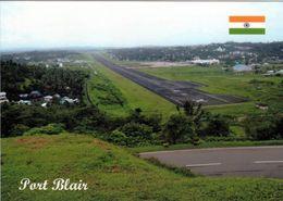 1 AK Andamanen Und Nikobaren * Port Blair Capital City Mit Dem Vir Savarkar Airport (auch Port Blair Airport) * - Indien