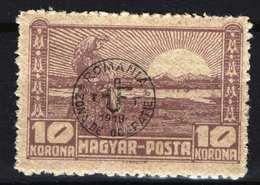 Hungary - DEBRECEN 1919. (Romania Occupation) Occupation Stamp 10 Korona Stamp MNH (**) - Emissions Locales