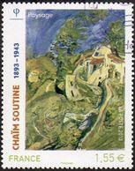 Oblitération Cachet à Date Sur Timbre De France N° 4716 - Tableau, Peinture De Chaïm Soutine - Paysage - Frankreich