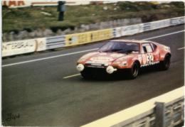LE MANS  Circuit De 24h  De Tomaso Pantera  5763 Cm3 - Le Mans