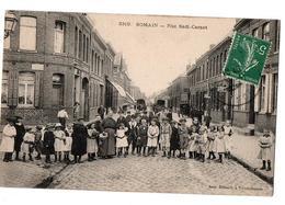 SOMAIN RUE SADI CARNOT COMMERCES TRES ANIMEE - France