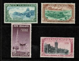 New Zealand 1948 Otago Centennial Set Of 4 MNH - Neufs