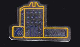61290-Pin's-France Telecom Toulon.. - Telecom De Francia