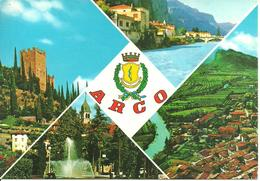 Arco (Trento) Vedute E Scorci Panoramici, Panoramic Views, Vues Panoramiques - Trento