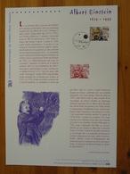 Document Officiel FDC 05-532 Albert Einstein Année Mondiale De La Physique 2005 - Albert Einstein
