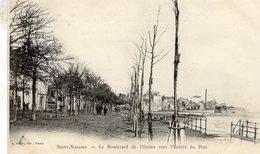 Saint-Nazaire  -  Le Boulevard De L'Ocean Vers L'Entrée Du Port  -  CPA - La Bernerie-en-Retz