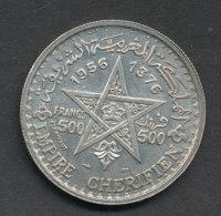 Maroc - Mohammed V - 500 Francs -1956 - Marruecos