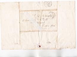 95 - PONTOISE - FRANC-MACONNERIE - Cour 1855 Adres à GISORS Par LOGE Des AMIS Du PEUPLE Pour Prise De Renseig Sur Futur - 1849-1876: Période Classique