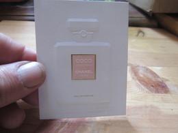 CARTE Chanel SAPIN CHINE OU JAPON - Cartes Parfumées