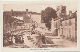 Coulonges Sur L'Autize -79- Vue Non Décrite Sur La Carte, Mais Unique Sur Delcampe - Coulonges-sur-l'Autize