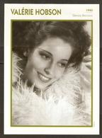 PORTRAIT DE STAR 1940 GRANDE BRETAGNE - ACTRICE VALERIE HOBSON - ENGLAND ACTRESS CINEMA FILM PHOTO - Fotos