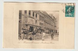 FRANCE / CPA / DORDOGNE / BERGERAC / MARCHE AUX FLEURS / 1909 - Bergerac