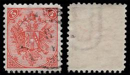 "BOSNIA-AUSTRIA, ""COAT OF ARMS"" 2nd PLATE 5 Kr, WATER MARK ""U"", 1894 RARE!!!!!!!!!! - Bosnia And Herzegovina"