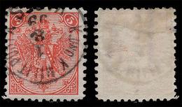 "BOSNIA-AUSTRIA, ""COAT OF ARMS"" 2nd PLATE 5 Kr, WATER MARK ""E"", 1894 RARE!!!!!!!!!! - Bosnia And Herzegovina"