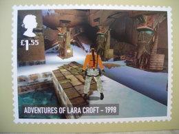 PHQ Vidéo Games, Adventures Of Lara Croft 1998 Aventures De Lara Croft - Illustrators & Photographers