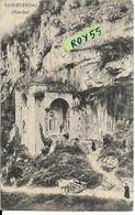 Marche-macerata-s.severino Marche Chiesa S.eustacchio Veduta Chiesa Nella Grotta Primi 900 (f.piccolo/v.retro) - Andere Städte