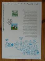 Document Officiel FDC 07-519 Sylvain Et Sylvette 2007 - Bandes Dessinées