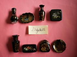 Belle Série Complète De 8 Fèves PERSO - MAGNIFIQUES PONT A MOUSSON - 2007 ( Feve Figurine Miniature ) Rare - Non Classés