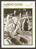 PORTRAIT DE STAR 1945 GRANDE BRETAGNE - ACTEUR LAURENCE OLIVIER - ENGLAND ACTOR CINEMA FILM PHOTO - Fotos