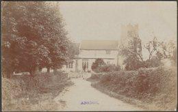 All Saints' Church, Ashdon, Essex, 1905 - RP Postcard - England