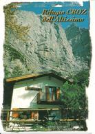 Rifugio Croz Dell'Altissimo (Trento) La Facciata, Veduta Estiva, View, Vue, Ansicht - Trento