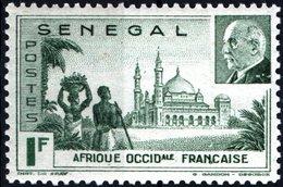 SENEGAL, MONUMENTI, 1941 1 F., FRANCOBOLLO NUOVO (MNH**)  Mi:SN 199, Scott:SN 193, Yt:SN 177 - Senegal (1960-...)