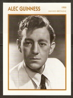 PORTRAIT DE STAR 1950 GRANDE BRETAGNE - ACTEUR ALEC GUINNESS - ENGLAND ACTOR CINEMA FILM PHOTO - Fotos