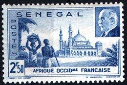 SENEGAL, MONUMENTI, 1941, 2,50 F., FRANCOBOLLO NUOVO (MNH**) Mi:SN 200, Scott:SN 194, Yt:SN 178 - Senegal (1960-...)