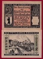 Allemagne 1 Notgeld De 2 Mark Berlin Dans L 'état N °5670 - Verzamelingen