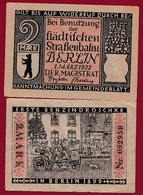 Allemagne 1 Notgeld De 2 Mark Berlin Dans L 'état N °5671 - Verzamelingen