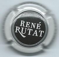 RUTAT René  N°8a  Lambert Tome 1  345/27  Noir, Contour Blanc - Champagnerdeckel