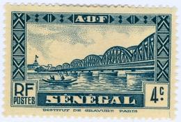 SENEGAL, MONUMENTI, 1935, 4 C., FRANCOBOLLO NUOVO (MLH*)  Mi:SN 121, ScottSN 145, Yt:SN 116 - Senegal (1960-...)