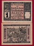 Allemagne 1 Notgeld De 2 Mark Berlin Dans L 'état N °5673 - [ 3] 1918-1933 : Weimar Republic