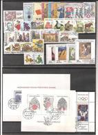 Année Complète 1998 Oblitéré / Complete Year Used ; YT 162 / 197 + BF 5 /6 - Tchéquie