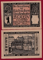 Allemagne 1 Notgeld De 2 Mark Berlin Dans L 'état N °5674 - Verzamelingen