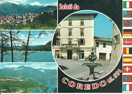 Coredo (Trento) Vedute E Scorci Panoramici, Caffè Roen, Panoramic Views, Vues Panoramiques - Trento