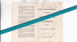 27 - GISORS - FRANC-MACONNERIE -  Panflet D'un Jésuite Vers 1850 Contre La Fondation De La LOGE Des Frères De BLANMONT - - Religion & Esotérisme