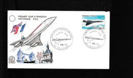 PA43 43   FDC 1969  2 Mars 1969    Avion Concorde   957d - 1960-1969